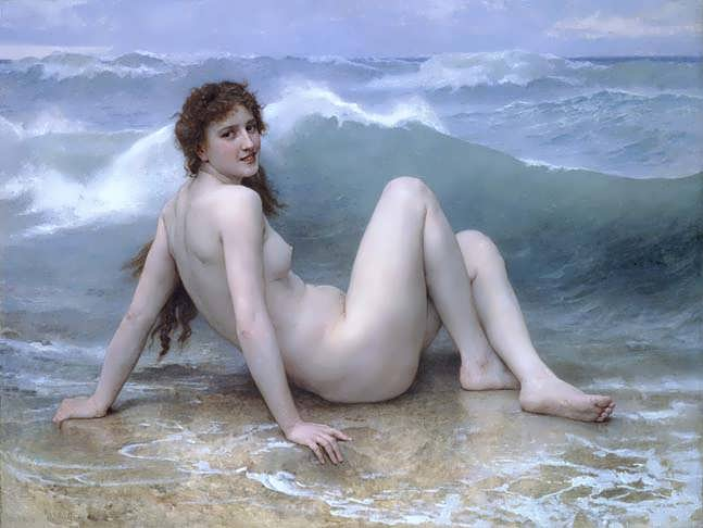 Bouguereau_-_The_Wave