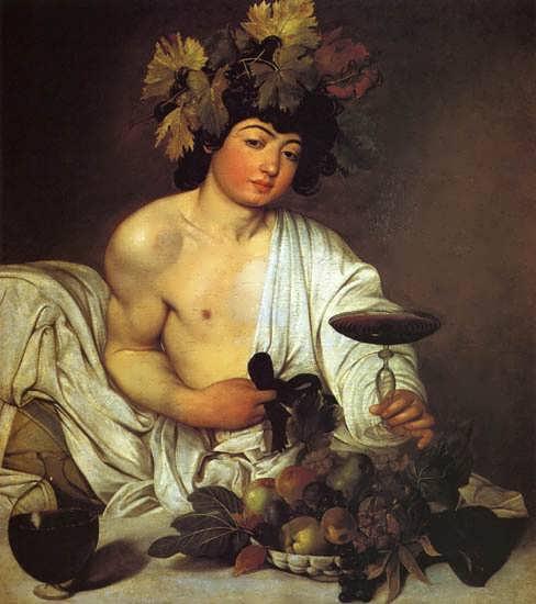 Caravaggio-Bacchus
