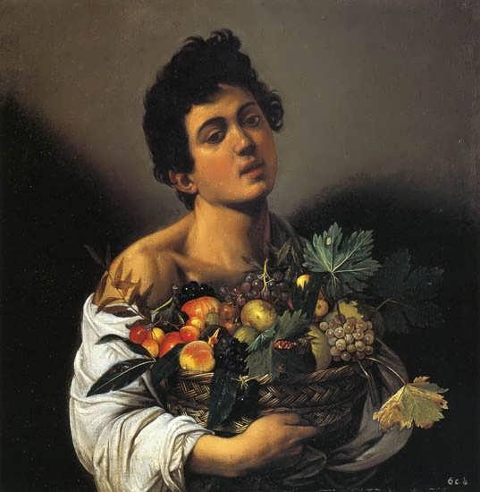 Caravaggio-BoywithaBasketofFruit