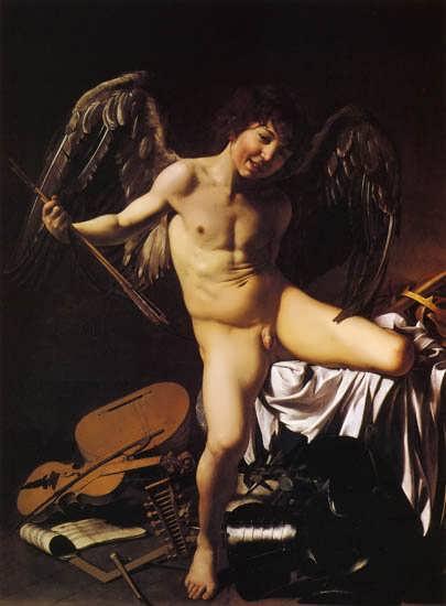 Caravaggio-Cupid