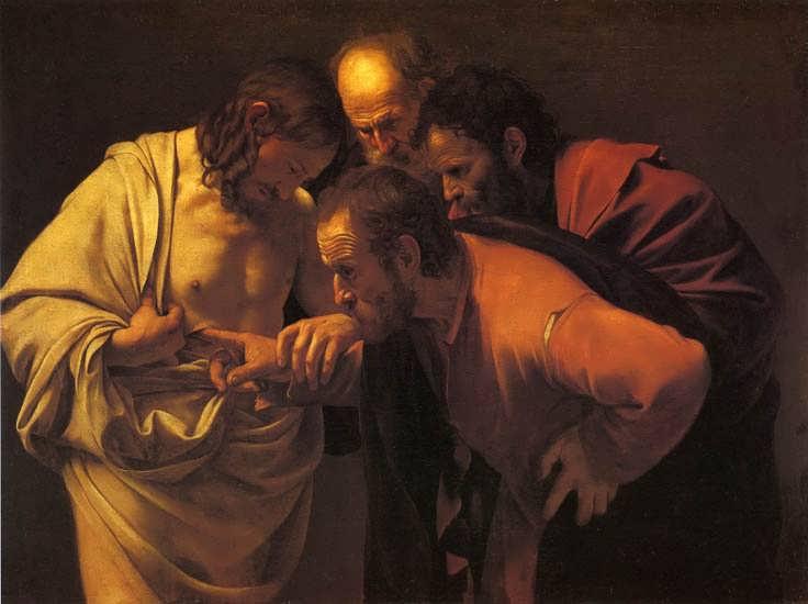 Caravaggio-DoubtingThomas