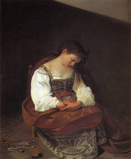 Caravaggio-PenitentMagdalen