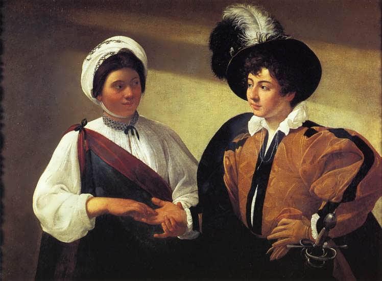 Caravaggio-TheFortuneTeller