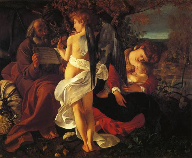 Caravaggio-TheRestontheFlightintoEgypt