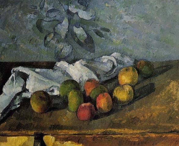 Cezanne-ApplesandNapkin