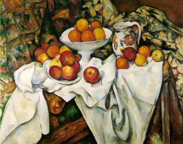 Cezanne-ApplesandOranges