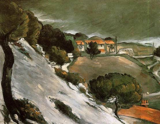 Cezanne-LEstaqueunderSnow