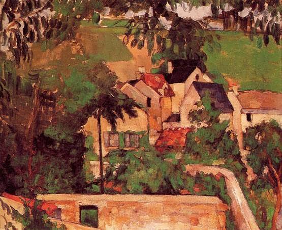 Cezanne-LandscapeatAuvers