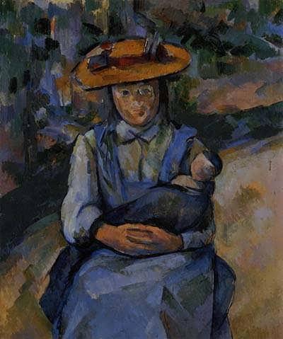 Cezanne-LittleGirlwithaDoll1