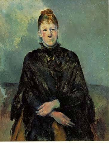 Cezanne-MadameCezanne