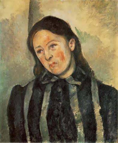 Cezanne-MadameCezannewithUnboundHair1