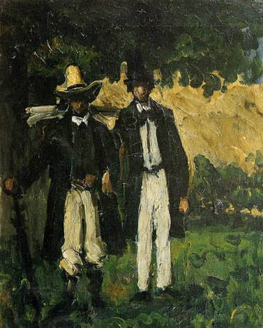 Cezanne-MarionandValabregueSettingoutforMotif