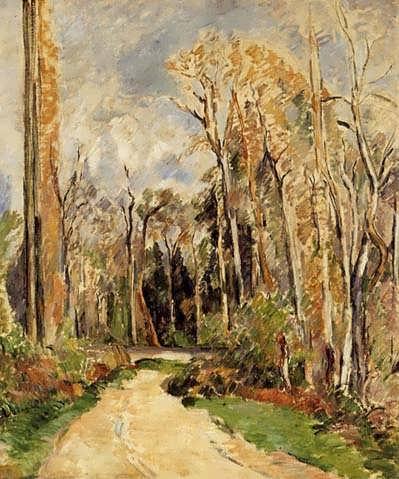 Cezanne-PathattheEntrancetotheForest