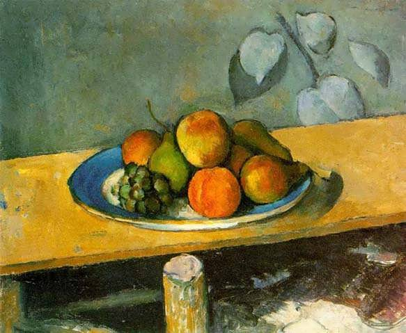 Cezanne-PeachesPearsandGrapes