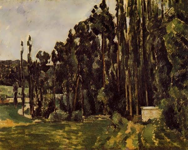 Cezanne-Poplars