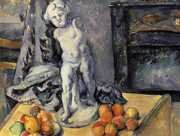 Cezanne-StillLifewithPlasterCupid