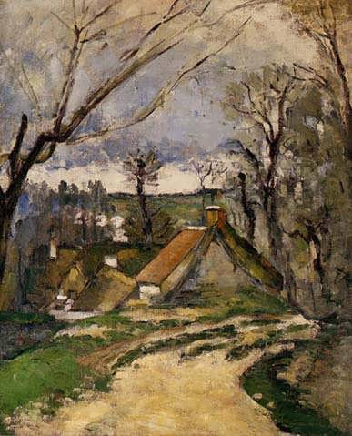 Cezanne-TheCottagesofAuvers