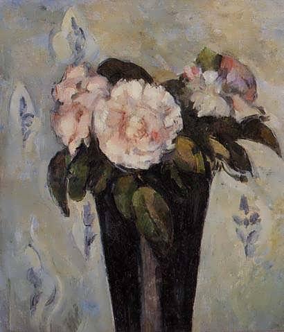 Cezanne-TheDarkBlueVase