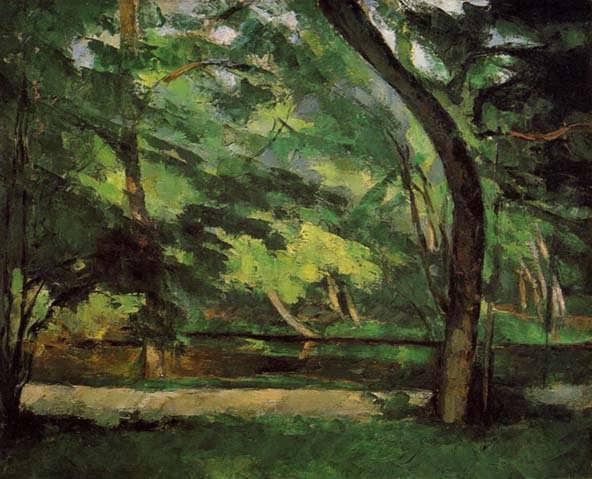 Cezanne-TheEtangdesSoeursatOsny