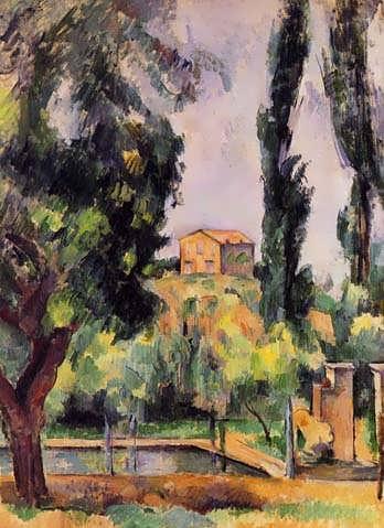 Cezanne-TheJasdeBouffan