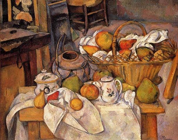Cezanne-TheKitchenTable