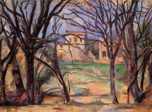 Cezanne-TreesandHouses