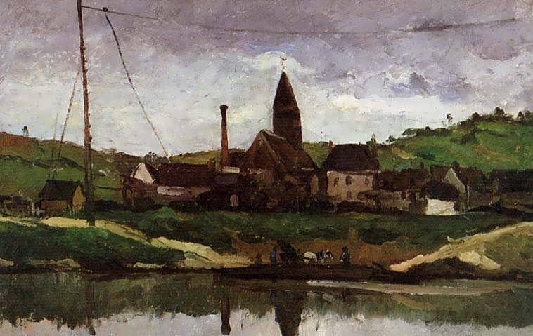 Cezanne-ViewofBonnieres