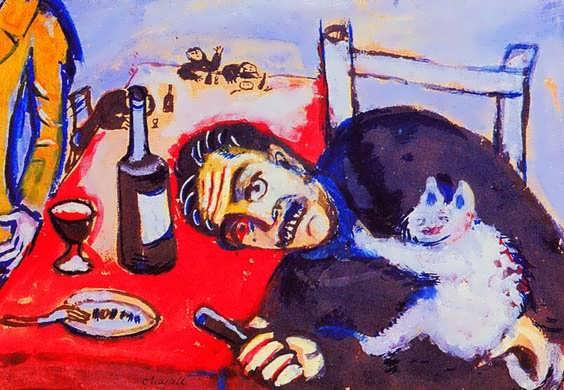 Chagall-Manattable