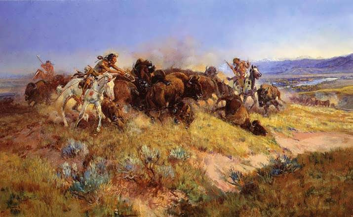 CharlesMarionRussell-BuffaloHuntNo40