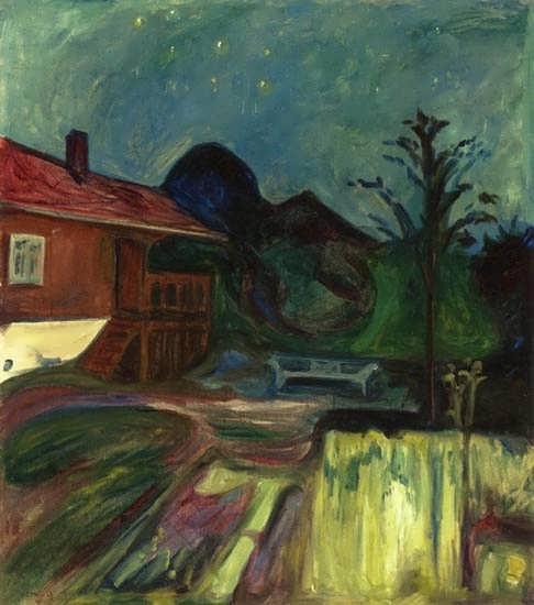 EdvardMunch-SummerNightAsgardstrand