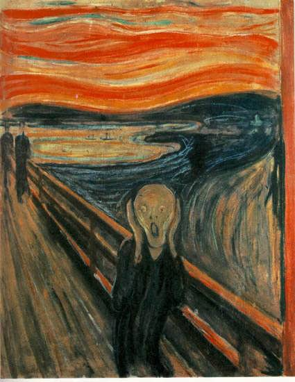 EdvardMunch-TheScreamakaSkriketTheScreaminNorwegian