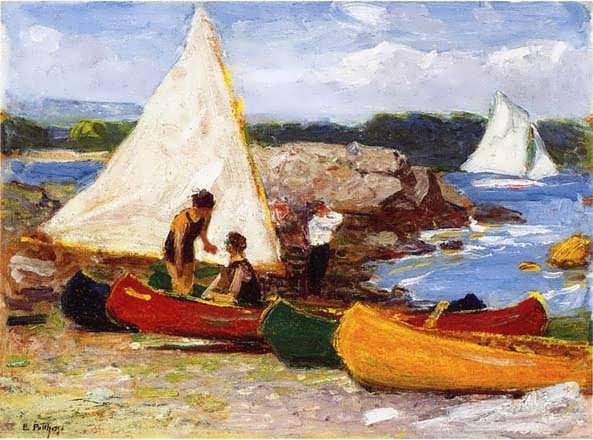 EdwardPotthast-CanoesandSailboats