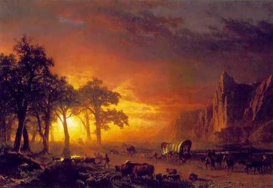 EmigrantsCrossingthePlains-Bierstadt