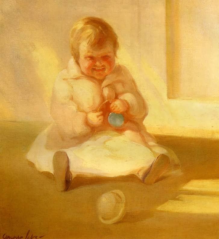 GeorgeLuks-ChildwithaToy