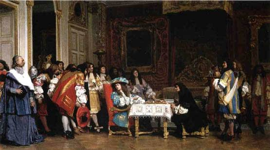 Gerome-LouisXIVandMoliere