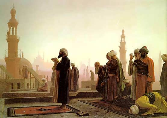Gerome-Prayer_in_Cairo_1865