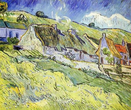Gogh-AGroupofCottages1