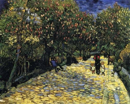 Gogh-AvenuewithFloweringChestnutTrees