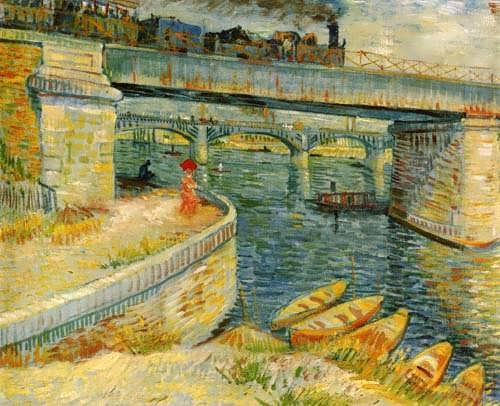 Gogh-BridgesacrosstheSeineatAsnieres