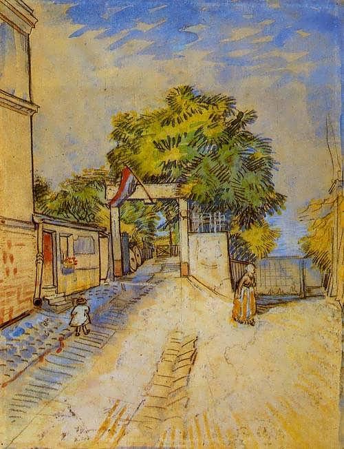 Gogh-TheEntranceofaBelvedere