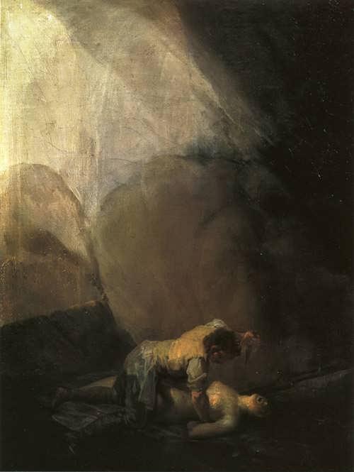 Goya-BrigandMurderingaWoman