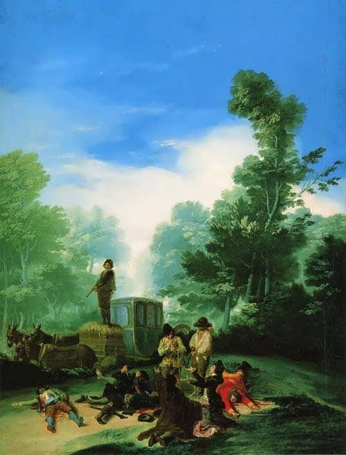 Goya-HighwaymenAttackingaCoach