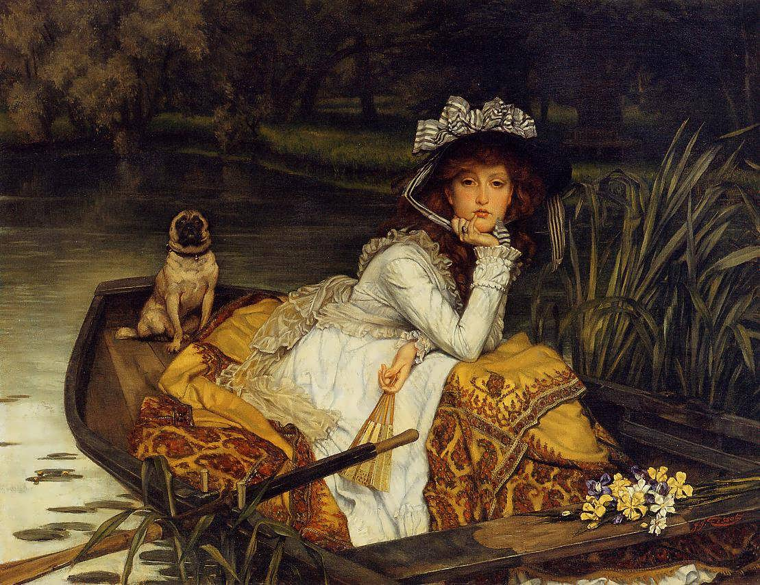 JamesTissot-YoungWomaninaBoat