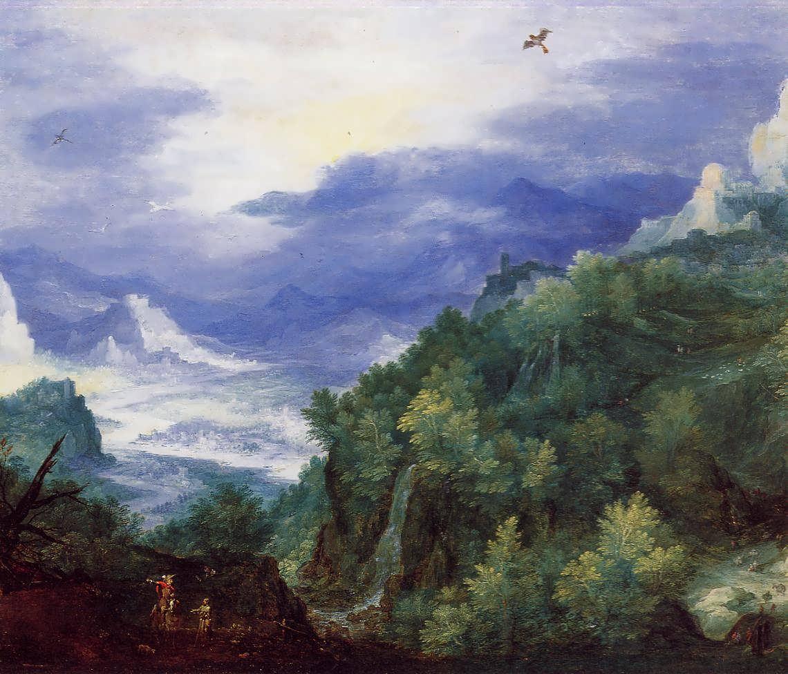 JanBruegeltheElder-MountainLandscapewithViewofaRiverValley