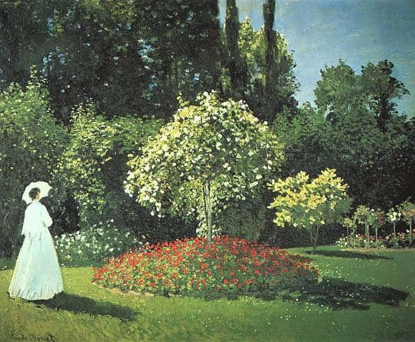 Jeanne-MargueriteLecadreintheGarden1