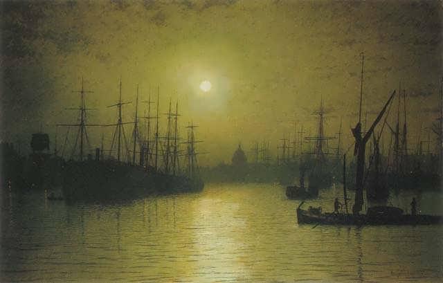 JohnAtkinsonGrimshawNightfall-Thames