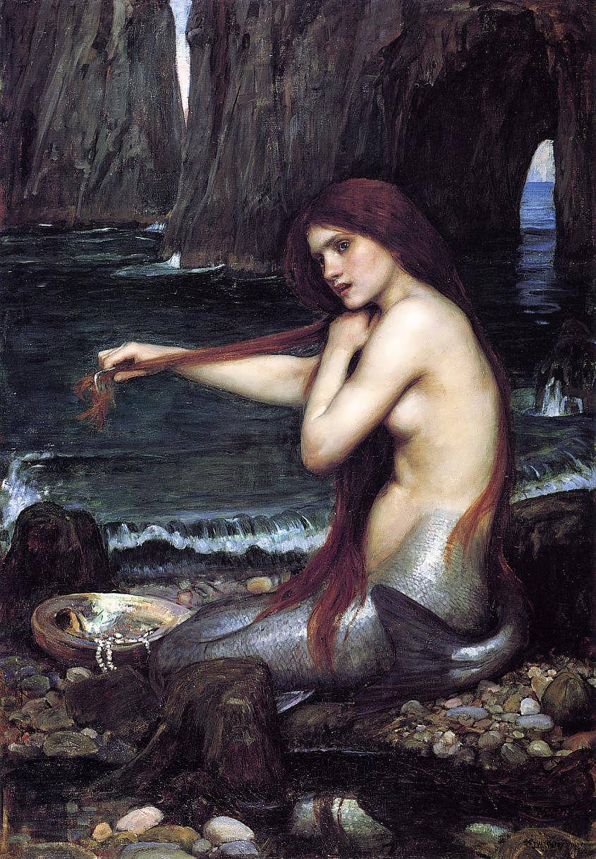 JohnWilliamWaterhouse-AMermaid