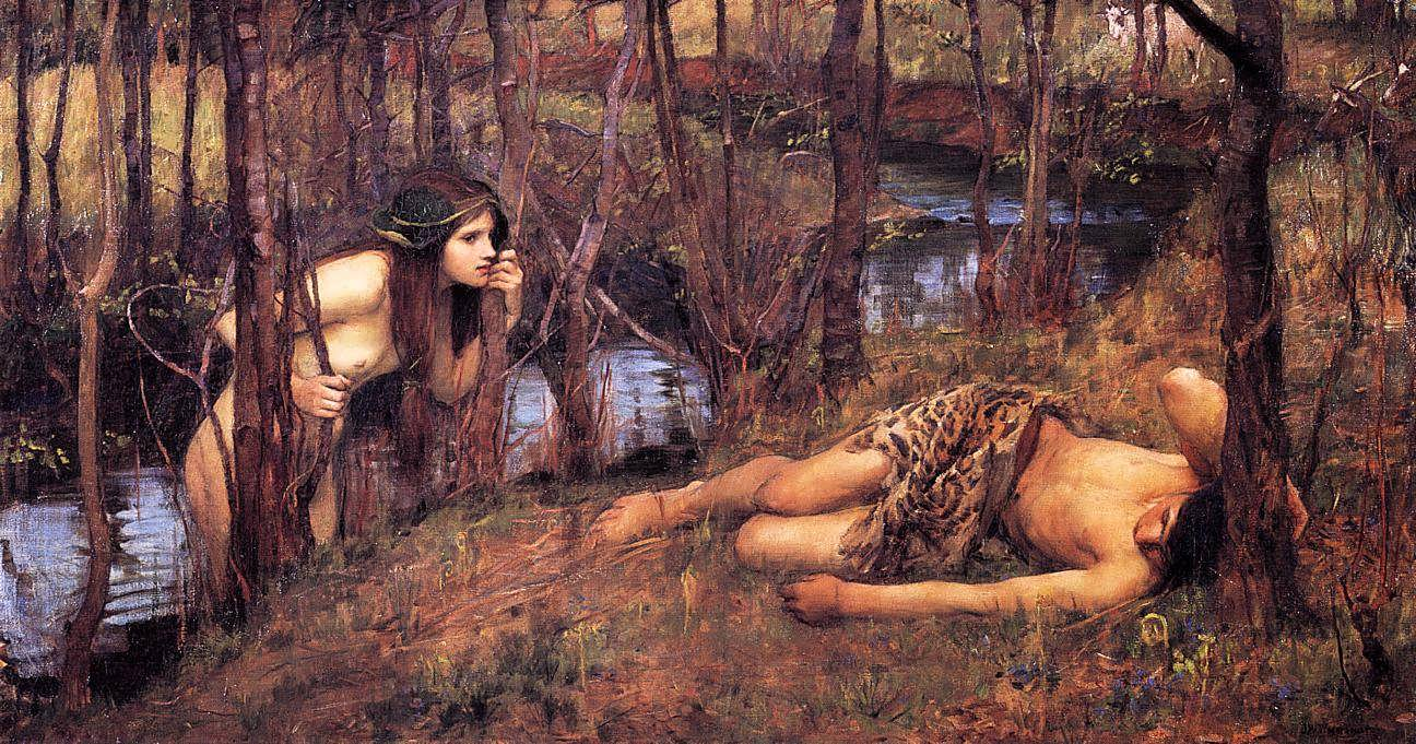 JohnWilliamWaterhouse-ANaiad