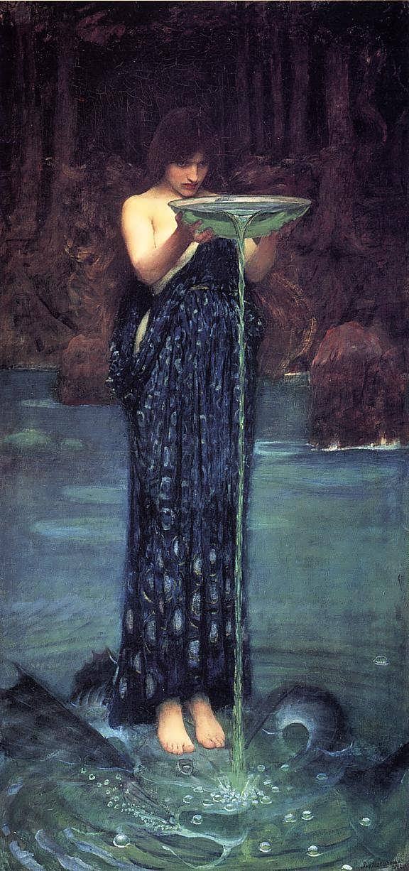 JohnWilliamWaterhouse-CirceInvidiosa