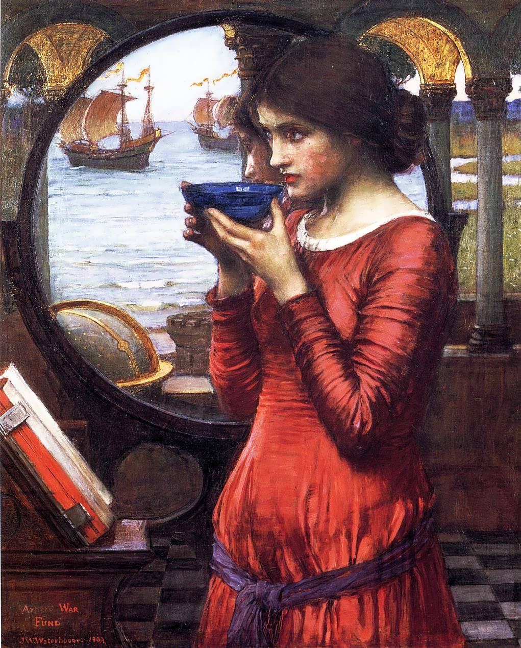 JohnWilliamWaterhouse-Destiny